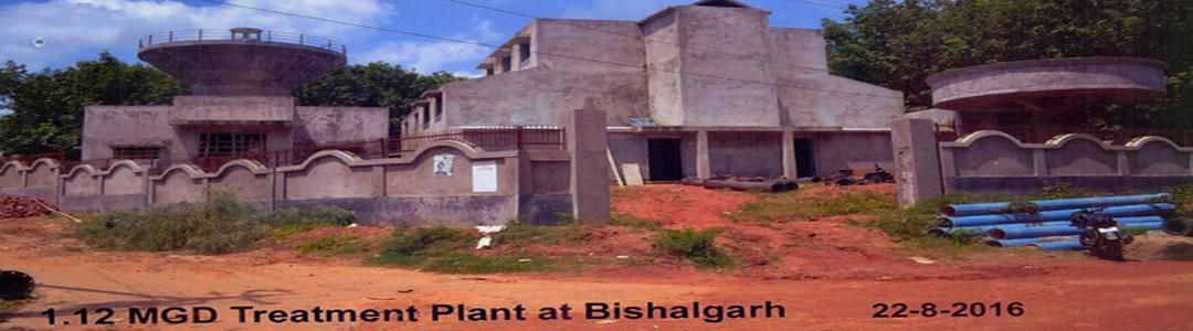 1.12 MGD Treatment Plant at Bishalgarh